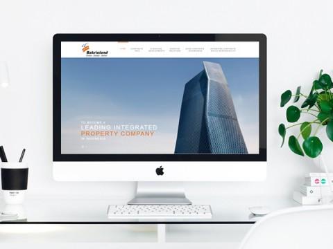 Bakrieland Website