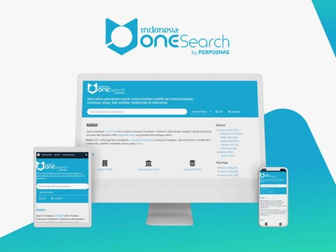 Onesearch Website Perpustakaan Nasional